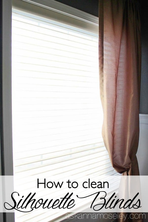 How to clean Silhouette blinds - Ask Anna