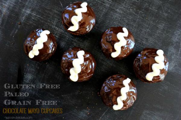 Gluten-free, Grain-free, Paleo Chocolate Cupcakes