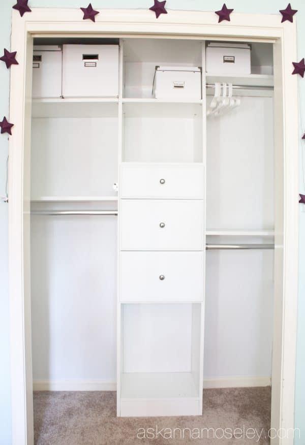 How to create an organized kids closet - Ask Anna