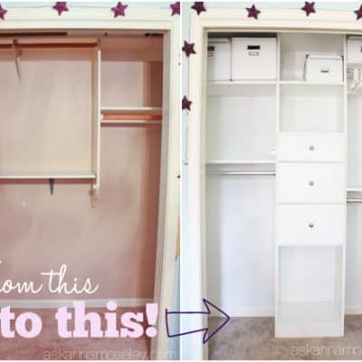 How to Create an Organized Kids Closet