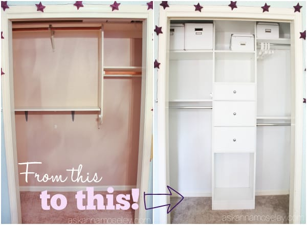 How to create an organized kids closet - Ask Anna