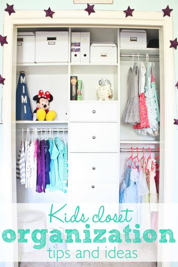 Kids closet organization tips and ideas - Ask Anna