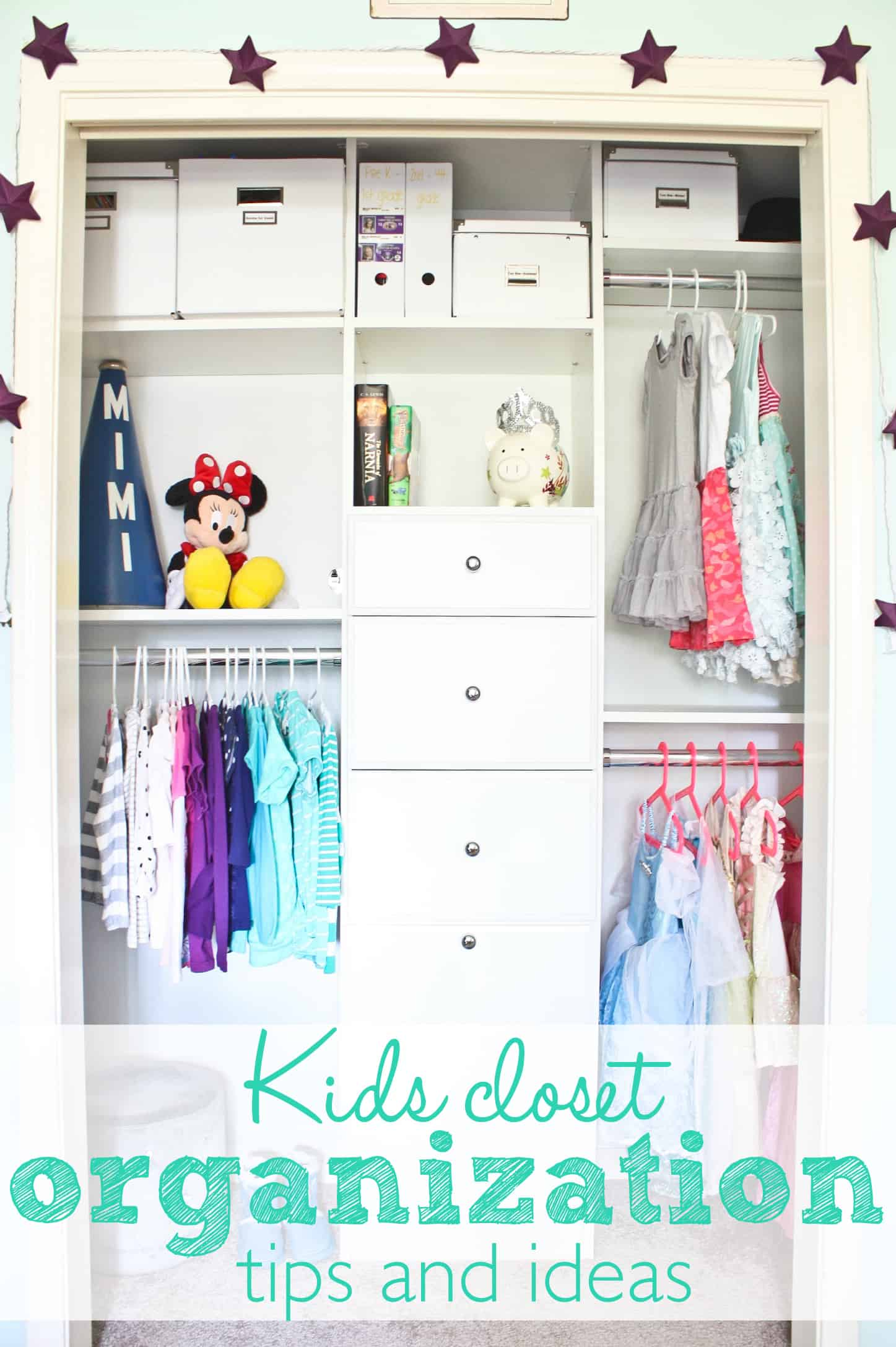 organization tidbits tips kids closet for better