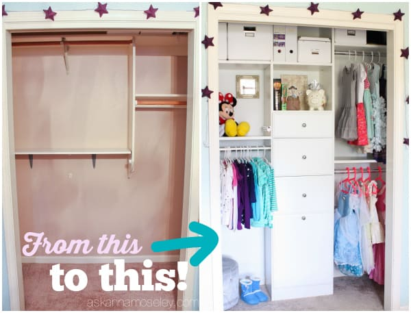 Kids Closet Organization Tips And Ideas   Ask Anna