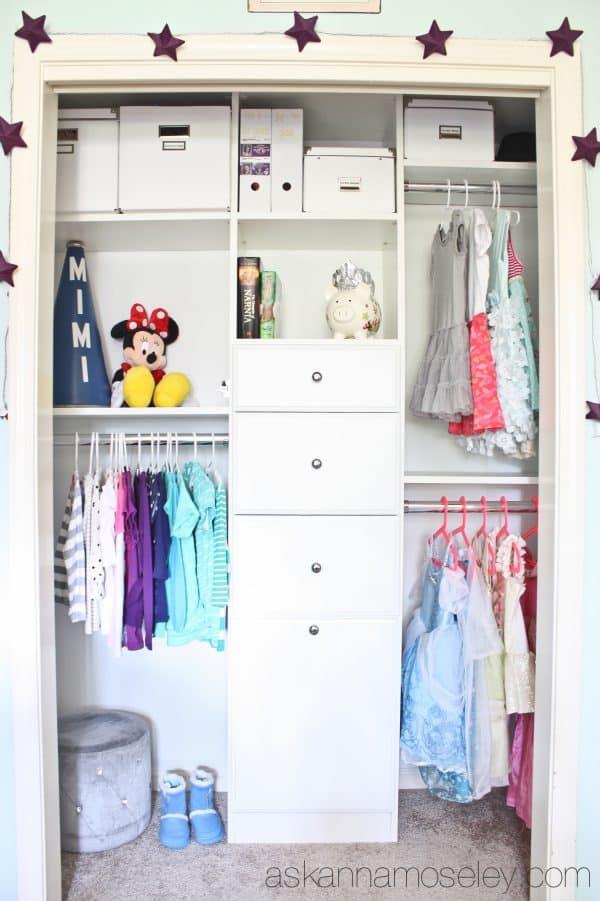Kids Closet Organization - Ask Anna