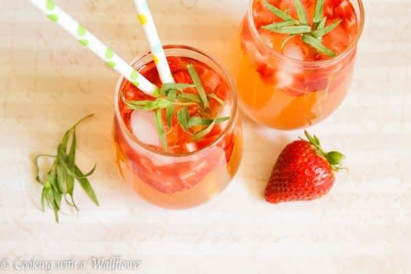 Strawberry Tarragon Lemonade