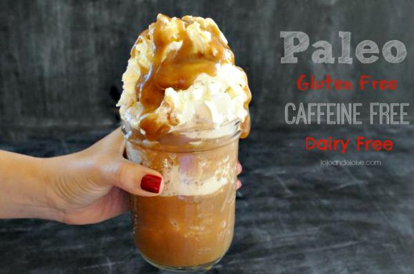 Gluten-free, caffeine-free frapaccino - jojoandeloise.com