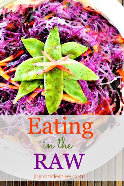How to make Raw Vegan Ozuke and Kelp Noodle salad organic jojoandeloise.com