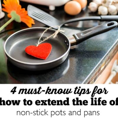 How to Care for and Extend the Life of a Non-Stick Pan