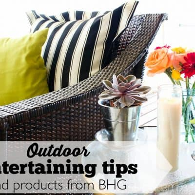 Outdoor Entertaining Tips an Engagement & a Giveaway!!!