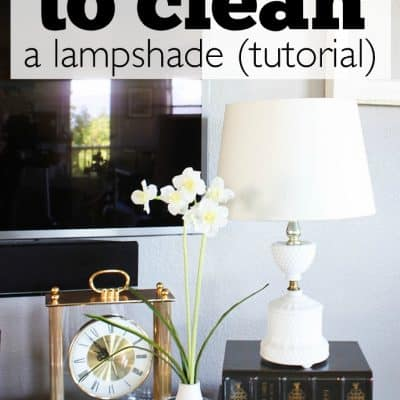 The Best Way to Clean a Lampshade