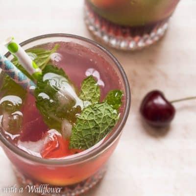 Refreshing Cherry Lemonade