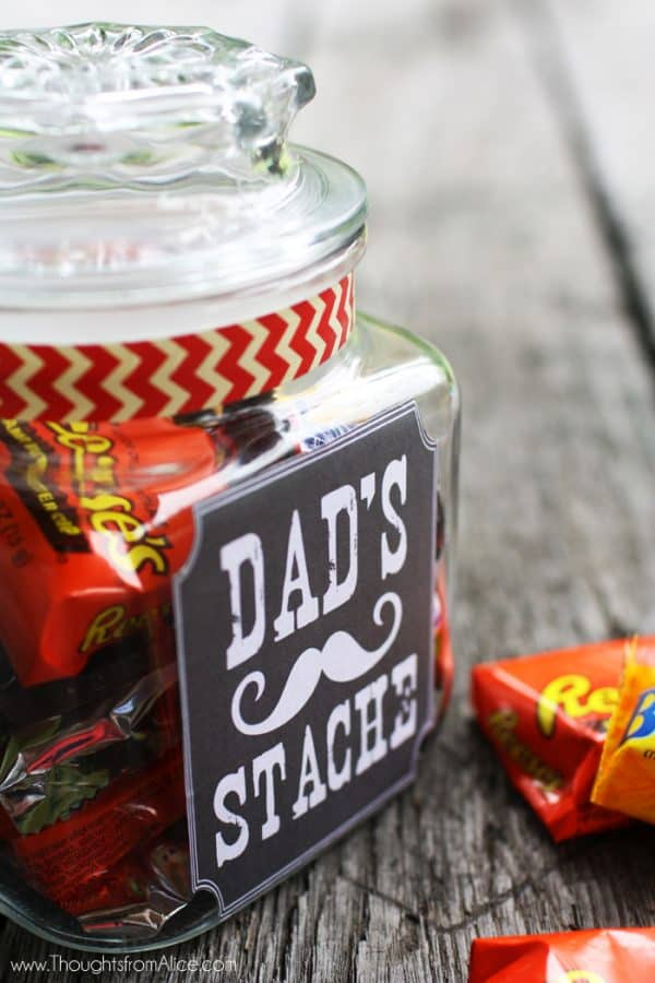 Fathers Day Gift Jar by Thoughts from Alice