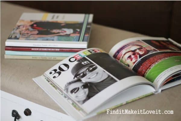 Fathers Day Photobook Gift Idea from Find It Make It Love It