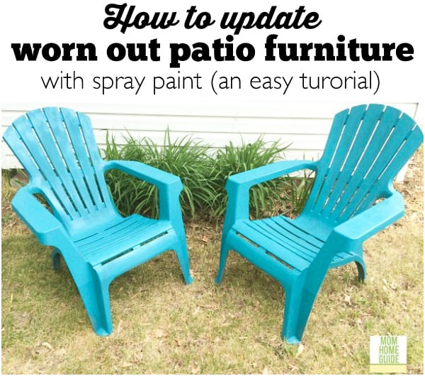 How To Update Old Patio Chairs (an Easy Tutorial) Part 47