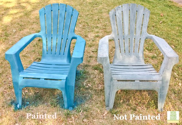 How To Update Old Patio Chairs (an Easy Tutorial). How To Spray Paint  Plastic Furniture Part 39