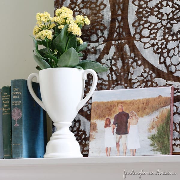 Mod Podge Photo Canvas by Finding Home