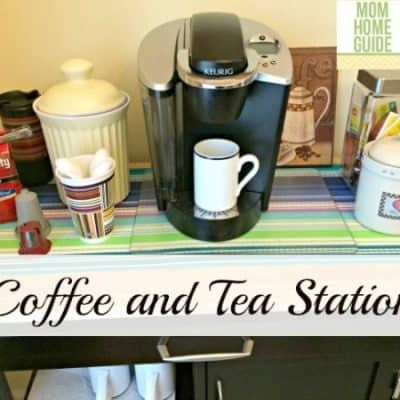 How to Organize a Kitchen Coffee Station