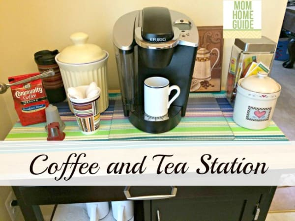 kitchen coffee  station