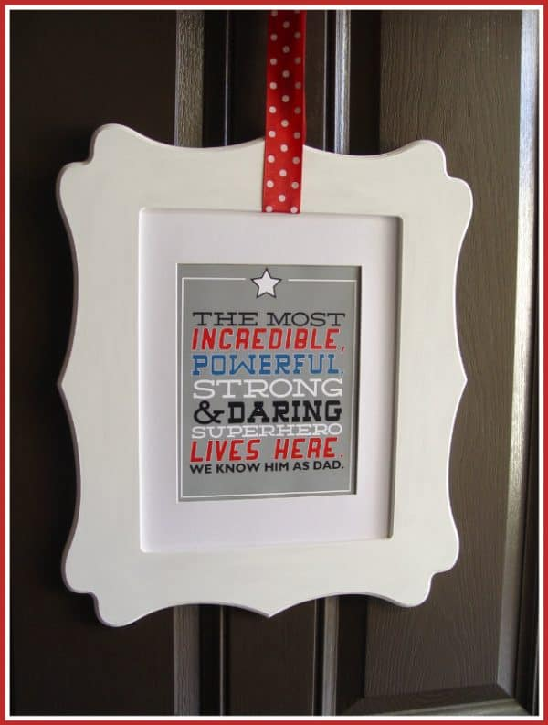 Fathers Day Printable by Today's Creative Blog