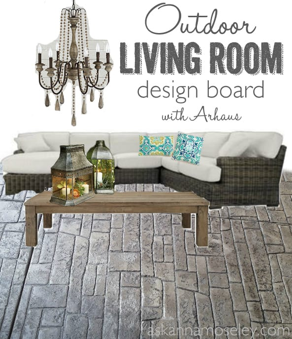 Outdoor living room design - Ask Anna