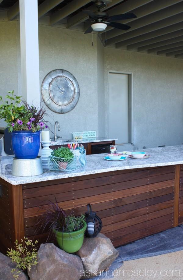Outdoor kitchen - Ask Anna