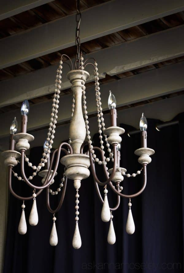Louise chandelier from Arhaus - Ask Anna