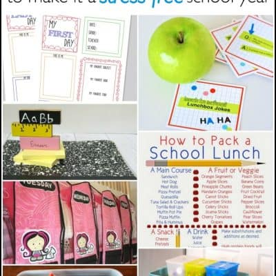 20 Back to School Organization Tips to make it a Stress-Free School Year!