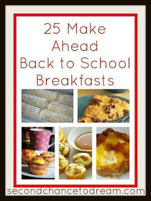 25 make ahead school morning breakfast ideas
