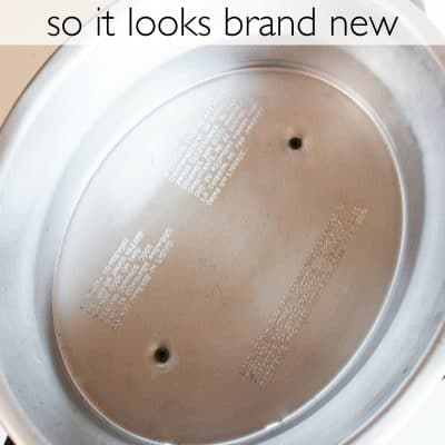 How to Clean a Crock Pot to make it Look Brand New!