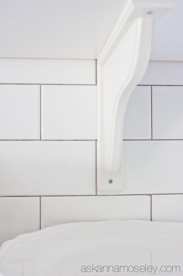 A trick for laying subway tile - Ask Anna