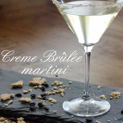 Creme Brulee Martini Recipe