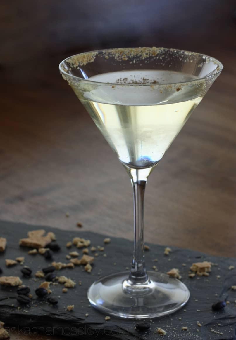 Creme brulee martini