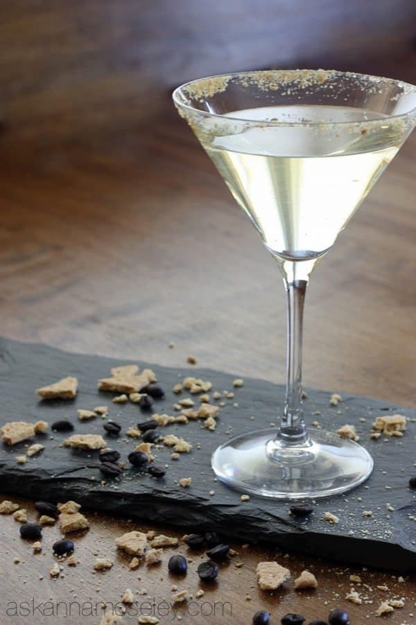 Creme brulee martini recipe, it's like dessert but without all the calories - Ask Anna