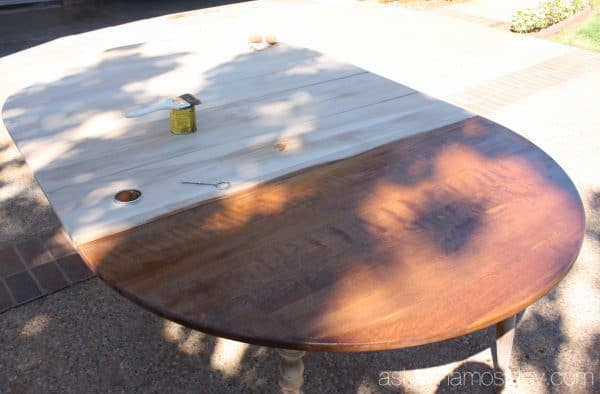 Dining room table transformation - Ask Anna