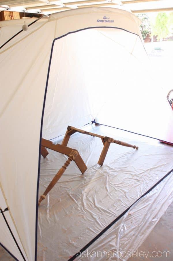 HomeRight Spray Shelter - Ask Anna