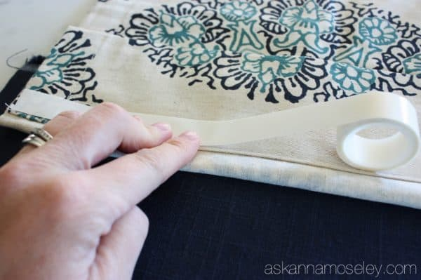 A no-sew way to make short drapes floor length - Ask Anna