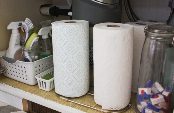 Limited edition dual paper towel holder from Bounty - Ask Anna