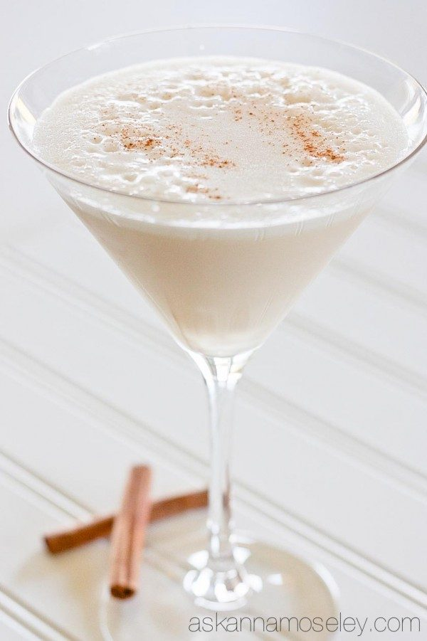 Turtle Dove martini and a round-up of Fall and Winter's best martinis