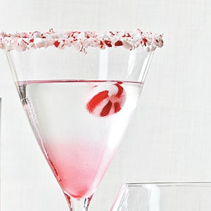 Candy cane martini and a round-up of Fall and Winter's best cocktails