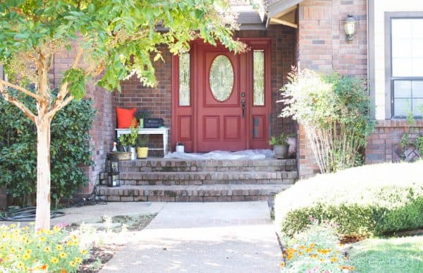Front door makeover - Ask Anna