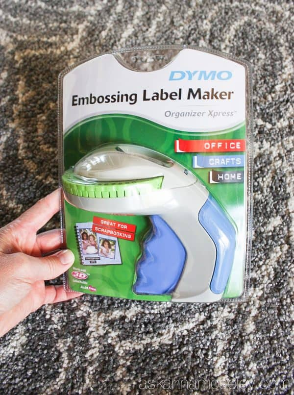 The Organizer Xpress Embosser from DYMO, easy and fun to use - Ask Anna