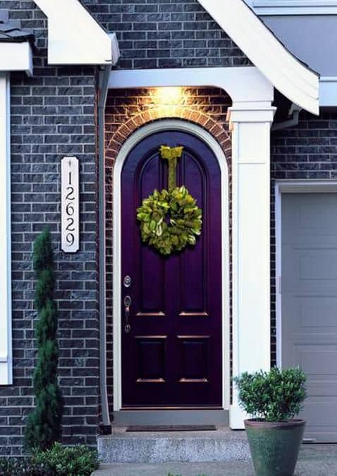 Insipiration - Purple front door