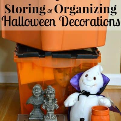 Tips for Storing and Organizing Halloween Decorations