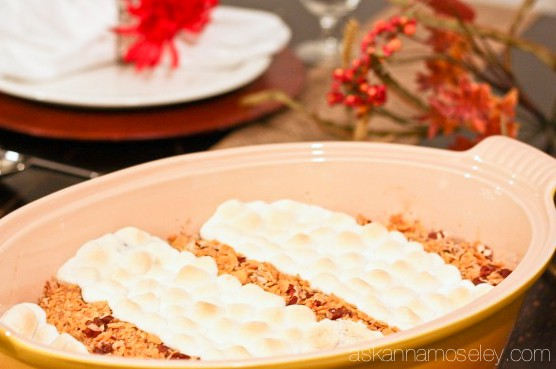 Sweet potato casserole, the perfect side dish for every Thanksgiving feast - Ask Anna