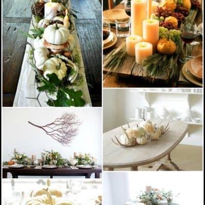 Beautiful Thanksgiving Centerpieces