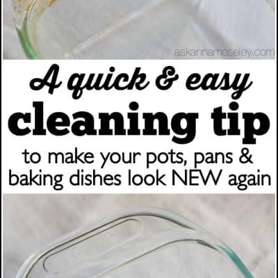 How to Clean Baked-on Grease off Pots, Pans & Baking Dishes