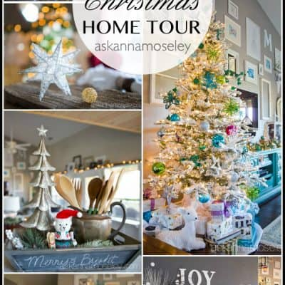 My Merry & Bright Christmas Home Tour 2015