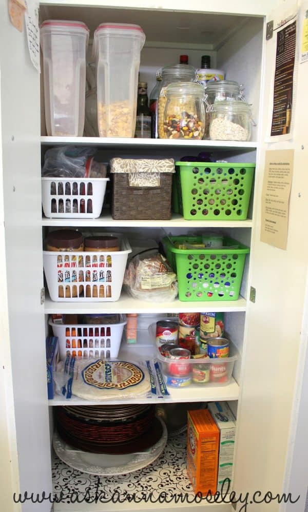 how to organize a kitchen without a pantry, in 30 min or less - ask anna