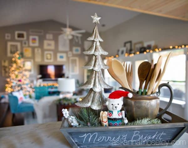 Bright and colorful Christmas home tour | Ask Anna